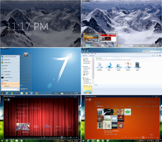 OPCTHEME - Customized Windows7 by octogonpc