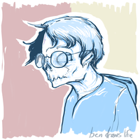 Ghoulish Harry Potter by bensigas