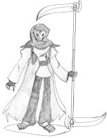 The Grim Reaper by BurnerManEXE