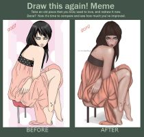 Sitting - draw this again by Lenap