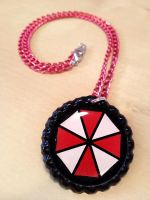 Umbrella Corp Resident Evil Necklace by Monostache