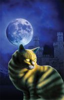 Topaz the Conjure Cat cover by Hachiman1