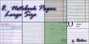 Notebook Paper by rRodion