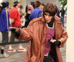 Gambit X-Men Cosplay by FaintofHearts33