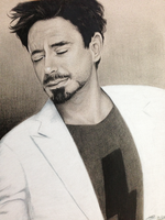 Robert Downey Jr. by PenguinAttackStudios