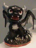 Skylanders-Custom Dark Spyro (Series 2) by KrazyKari