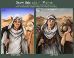 Draw This Again Meme by Millkie