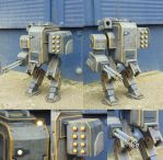 Helldivers EXO-44 'Walker' Mechsuit Part 18 FINISH by WeasleFire