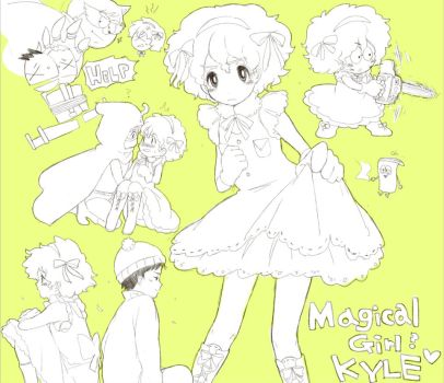 south park - Magical Girl ? by rnkr202