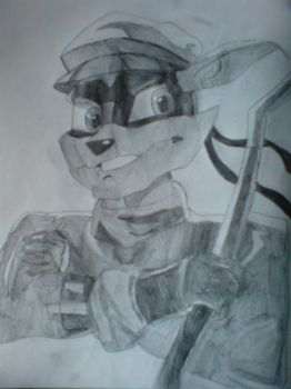Sly Cooper by Hyper-Knux