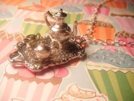 tea tray necklace by leggsXisXawsome