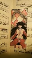 Pandora Hearts' bookmarks: Alice Baskerville by Ibizase80