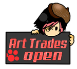 Art Trades Open Stamp by LonelyBoyLuis