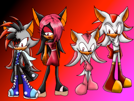 Ryanne,Anika,cupid, and Sean by Animal-Lover52