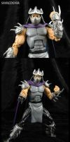 TMNT Cartoon style custom Shredder figure by Jin-Saotome