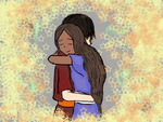 hugging by Jetana