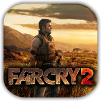 Far Cry 2 Game Icon by Wolfangraul