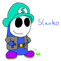 Slavko The Shy Guy by LuigiBroZ