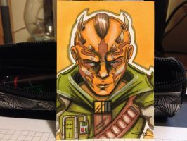 Siger - Traditional Sketch Card by blue-but-beautiful