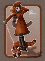 Me and My Red Panda by HeatherHitchman