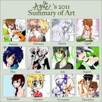 2011 Summary of Art by AmyFawkes