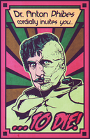 Vincent Price is The Abominable Dr. Phibes by AbelMvada