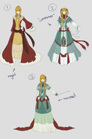 Garaku Dress Designs by teasidesketches