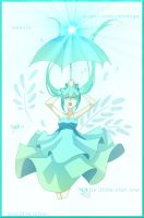 Vocaloid cards-Miku by fataleflare