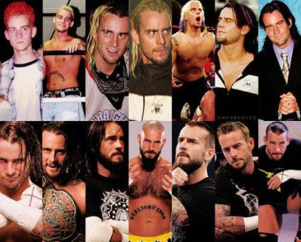 Evolution of CM Punk by JermaineDivine