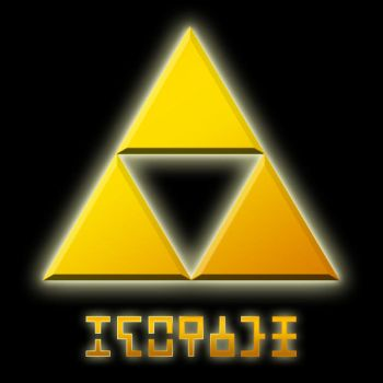 Triforce in Hylian by Sarinilli
