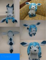 Glaceon Plush by HottieHulio