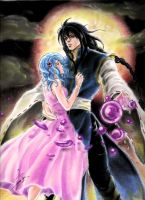 Lucifer and Yuki by ClAyMoRe--MiRiA