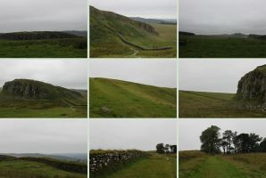 Hadrian's Wall 1 by Tasastock