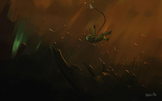 Daily Spitpaint 05 by Postic