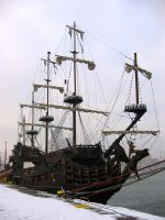 "The galleon ""Dragon"" by The-Black-Panther"