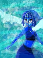 Lapis from Steven Universe WIP by AddyinWonderland