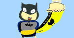 Batmite gets a Bat fright by CollinWing
