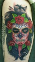 day of the dead by PaintedPeople
