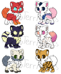 [CLOSED] Pups Batch Adoptable *DISCOUNT* by MeowTerrAdopts