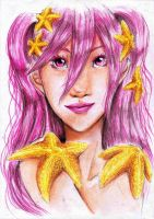 Star Catcher - Yellow Starfish by silk501