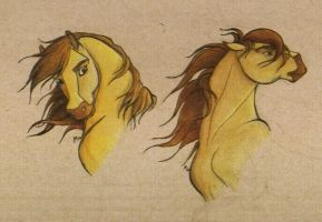 Spirit Sketches by wrobles4