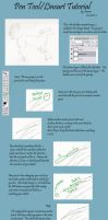 Pen Tool and Lineart Tutorial by NatameSecrea