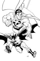 Superman_Batman by RyanOttley