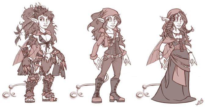 Clothing concepting #2 by Resident-Jade