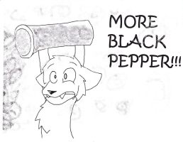 MORE BLACK PEPPER!!!! by Star-Fang