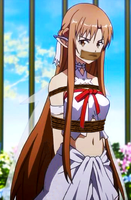 Asuna Yuuki Tied and Gagged by songokussjsannin8000