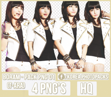 Boram (T-ARA) - PACK PNG#01 by JeffvinyTwilight