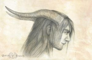 Orion's horns by queenofeagles