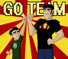 E3TB: Go Team by emif