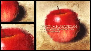 Red Apple - Detailed by gray2red